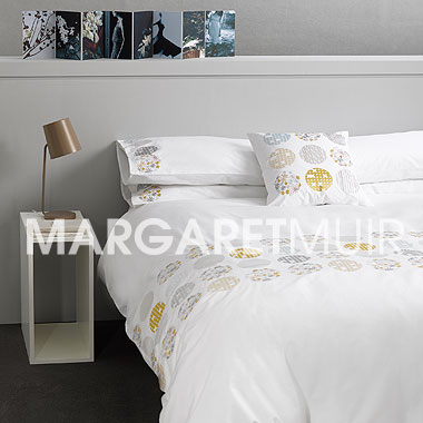 Margaret Muir Bedlinen Embroidered Bedlinen Bedding